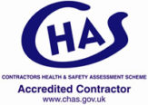 CHAS accredited contractor logo